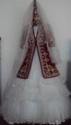 прокат казахских национальных платьев на узату и свадьбу,  Тараз