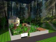 Ландшафтный дизайн 3D визуализация объектов