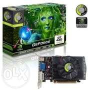GeForce GT440,  2Gb,  DDR3 1066 128 bit.