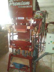 Продается комплект оборудования,  для производства отделочного кирпича